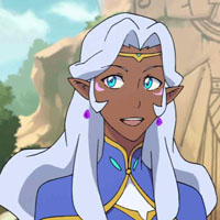 Princess Allura from Voltron Legendary Defender