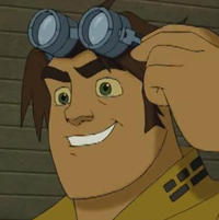 Hunk from Voltron Force